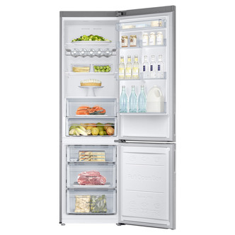 Samsung RB37J5230SA Frost Free Fridge Freezer in Silver 2 0m 60cmW A