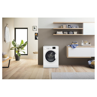 Image of Hotpoint RDG9643W Washer Dryer in White 1400rpm 9Kg 6Kg D Rated