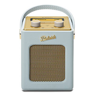 Roberts REVIVMINI DE Revival Mini DAB DAB FM RDS Radio w Charger Duck