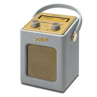 Roberts REVIVMINI DG Revival Mini DAB DAB FM RDS Radio w Charger Dove