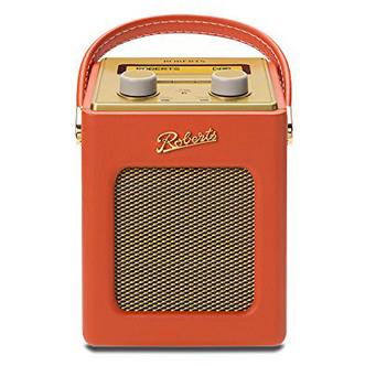Roberts REVIVMINI SO Revival Mini DAB DAB FM RDS Radio Sunburst Orange