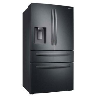 Samsung RF24R7201B1 4 Door Fr Free Fridge Freezer Black I W PL ADA Dis