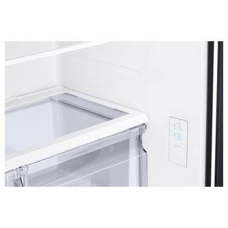 Samsung RF50A5002B1 French Style 3 Door Fridge Freezer in Black Water