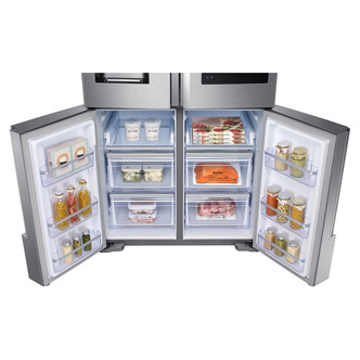 Samsung RF56K9540SR Family Hub Multi Door Fridge Freezer in St Steel 1