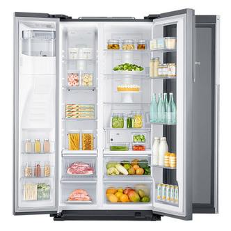 Samsung RH56J69187F FSR Showcase American Fridge Freezer in Steel I W