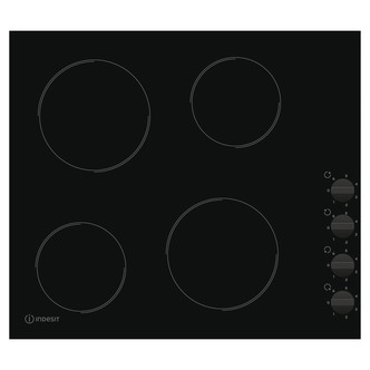 Indesit RI860C 60cm Frameless Ceramic Electric Hob in Black Manual