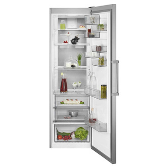 AEG RKB738E5MX 60cm Tall Larder Fridge in St St 1 86m 380L E Rated