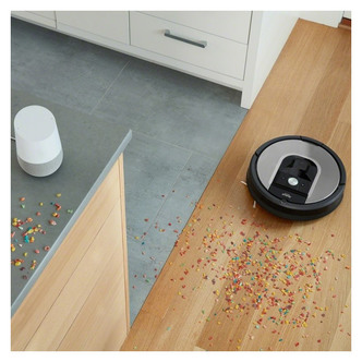 Image of iRobot ROOMBA 975 Robot Vacuum Cleaner with Smart App Wi Fi
