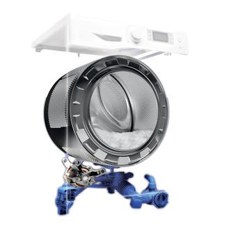 Hotpoint RPD9467JKK ULTIMA S Washing Machine in Black 1400rpm 9kg Stea