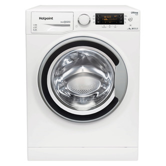 Hotpoint RPD9467JSW ULTIMA S Washing Machine in White 1400rpm 9kg Stea