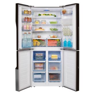 Hisense RQ560N4WC1 American Style Four Door Fridge Freezer in St Steel