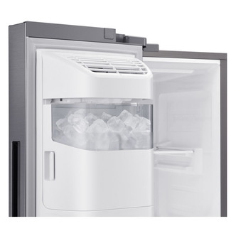 Samsung RS65R5401M9 American Fridge Freezer in Silver Ice Water 1 78m