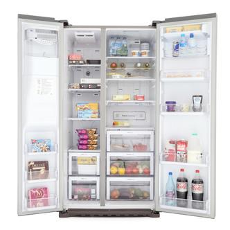 Samsung RSG5UCSL American Fridge Freezer in St Steel Ice Water 1 8m
