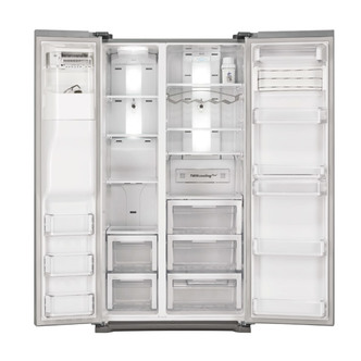 Samsung RSG5UCSL American Fridge Freezer in Stainless Steel Ice Water