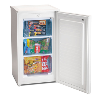 Iceking RZ109W E 48cm Under Counter Freezer in White 0 84m F Rated