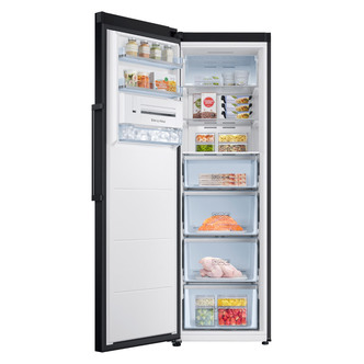 Samsung RZ32M7120BC Tall Frost Free Freezer in Black 1 8m 315L A Rated