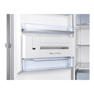 Samsung RZ32M7125SA Tall Frost Free Freezer in Silver 1 8m 315L