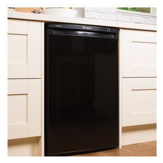 Hotpoint RZAAV22K 55cm Undercounter Freezer in Black 0 85m 77L A Rated