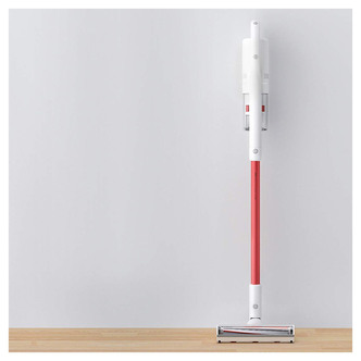 Roidmi S1S Cordless Bagless Stick Vacuum Cleaner in White Red