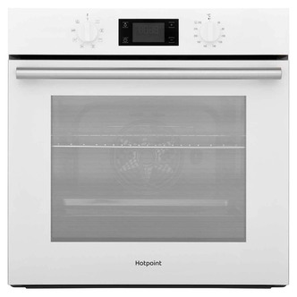 Image of Hotpoint SA2540HWH Built In Single Electric Oven in White
