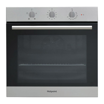 Image of Hotpoint SA3330HIX Built In Single Electric Fan Oven in Stainless Stee