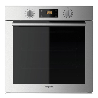 Hotpoint SA4544HIX 60cm Built In Single Electric Oven in Stainless Ste
