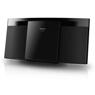 Panasonic SC HC297EB K Slim Micro Hi Fi CD 20w MP3 Wireless Audio Blue