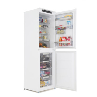 Image of AEG SCS8181ENS 55cm Built In 50 50 Frost Free Fridge Freezer 1 77m A