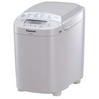 Panasonic SD 2501WXC 25 Mode Automatic Bread Maker in White Gluten Fre