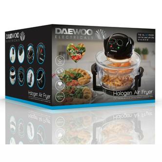 Daewoo SDA1032 DELUXE Halogen Low Fat Air Fryer 17 Litre 1400W