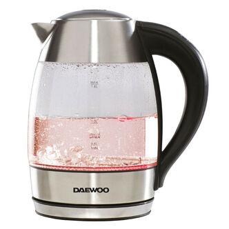 Daewoo SDA1670 Digital Temperature Control Glass Kettle 1 8L 2 2kW