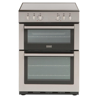 Stoves SDF60DO STA 60cm Dual Fuel Cooker in Stainless Steel