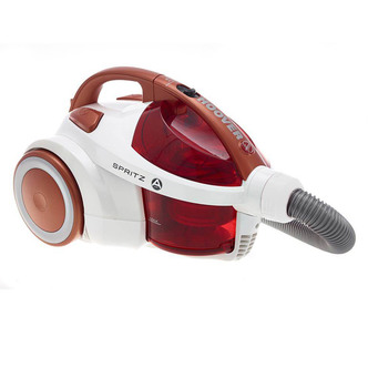 Hoover SE71SZ04001 Spritz Bagless Cylinder Vacuum Cleaner in Red 700W