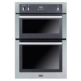 Stoves 444440832 Built In Electric Double Oven in Stainless Steel