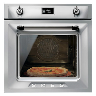 Smeg SFP6925XPZE 60cm Victoria Built In Pyrolytic Oven in St Steel