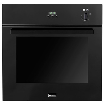Stoves 444440937 Built In Professional Single Gas Oven in Black