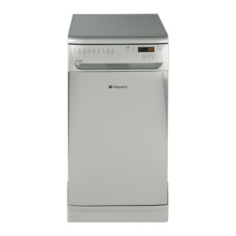 Hotpoint SIUF32120X 45cm Ultima Slimline Dishwasher in St St 10 place