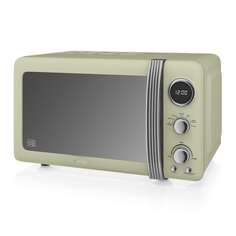 Swan SM22030GN Standard Microwave- Green