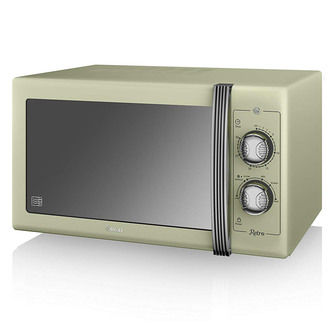 Swan SM22070GN Standard Microwave - Green