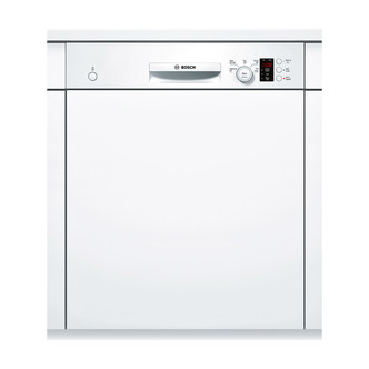 Bosch SMI50C12GB 60cm Semi Integrated Dishwasher in White 12 Place A