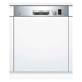 Bosch SMI50C15GB 60cm Semi Integrated Dishwasher in Silver 12 Place A