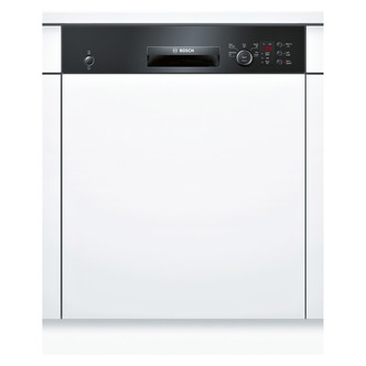 Bosch SMI50C16GB 60cm Semi Integrated Dishwasher in Black 12 Place A