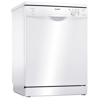 Image of Bosch SMS24AW01G Serie 2 60cm Dishwasher in White 12 Place Setting A