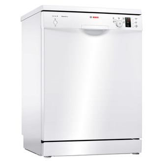 Bosch SMS25AW00G 60cm Serie 2 Dishwasher in White 12 Place Settings A