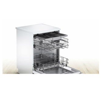 Image of Bosch SMS25EW00G Serie 2 60cm Dishwasher in White 13 Place Setting A