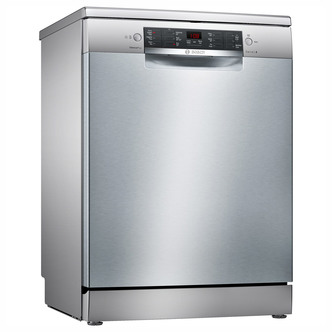Image of Bosch SMS46II01G Serie 4 60cm Dishwasher in Silver 13 Place Setting A