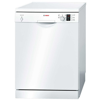 Bosch SMS50C22GB 60cm Serie 4 Dishwasher in White 12 Place Settings A