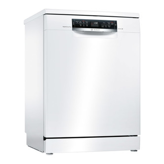 Bosch SMS67MW01G Serie 6 60cm Dishwasher in White 14 Place Setting A
