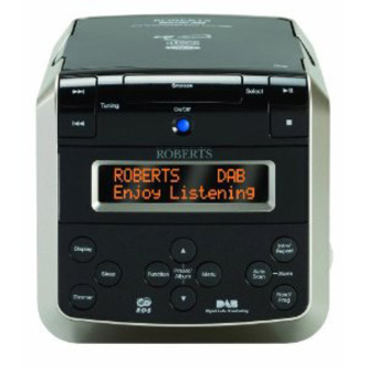 Roberts SOUND38 Clock Radio DAB FM CD Stereo