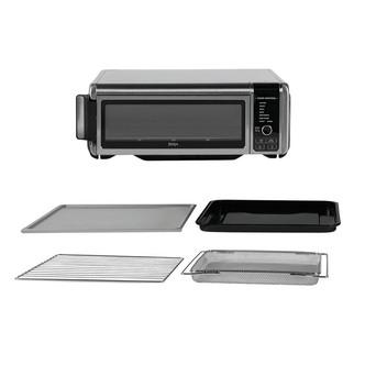 Ninja SP101UK Foodi 8 in 1 Flip Mini Oven Silver Black